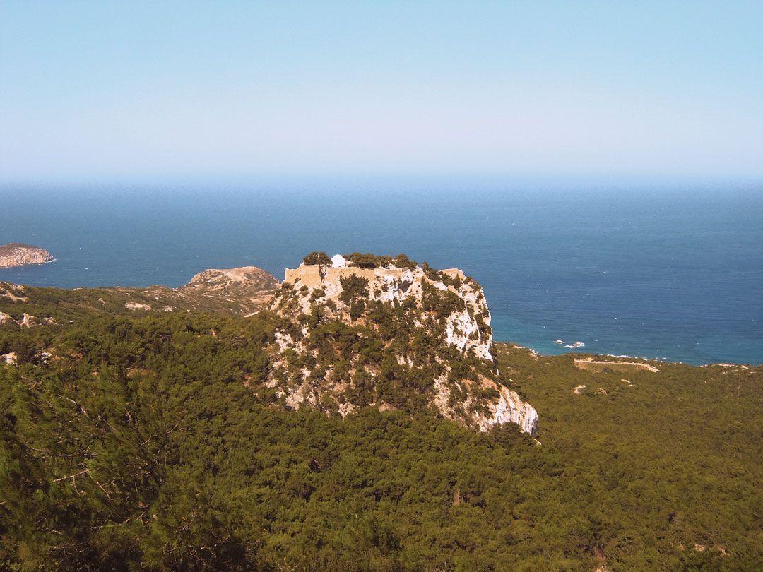 ταξίδι στη Ρόδο κάστρο Μονόλιθος