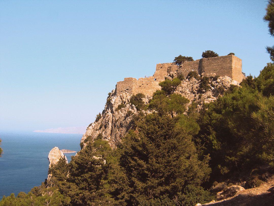 διακοπές στη Ρόδο κάστρο Μονόλιθος