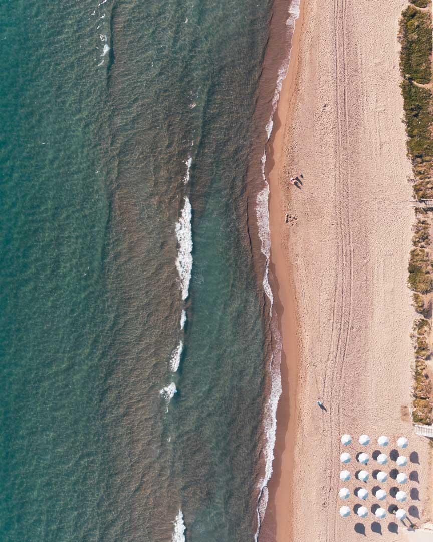 παραλία κουρούτας