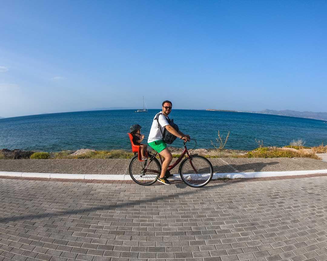 καλοκαίρι στο Αγκίστρι ποδήλατο