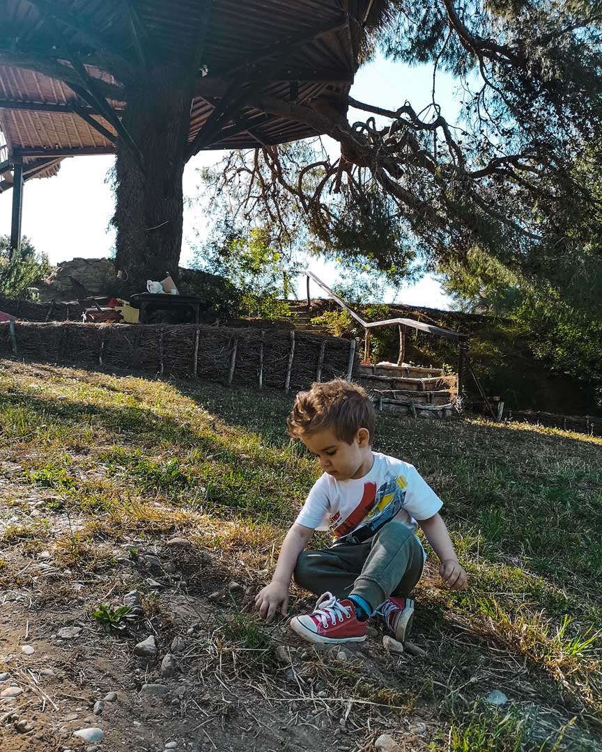Διακοπές σε Δεντρόσπιτο με παιδί